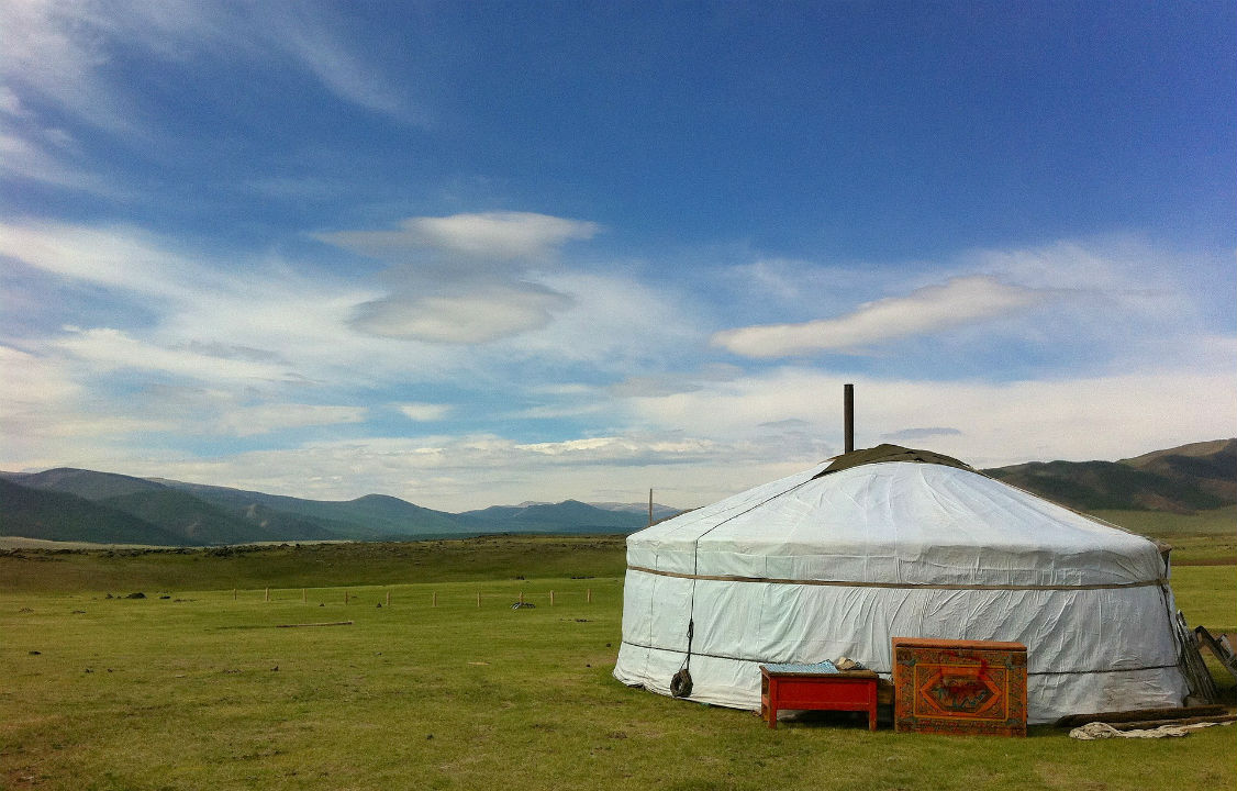 An evening in Mongolia