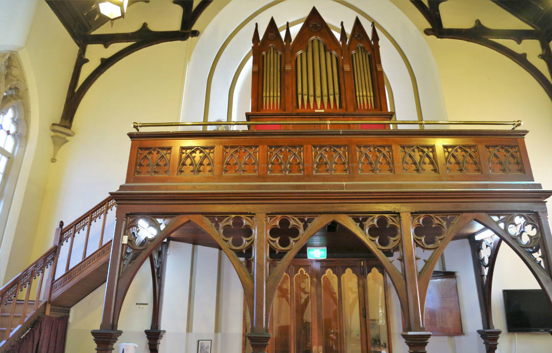 Bates and Son Organ